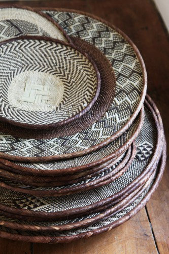 African basketry craft at MakeAfrica
