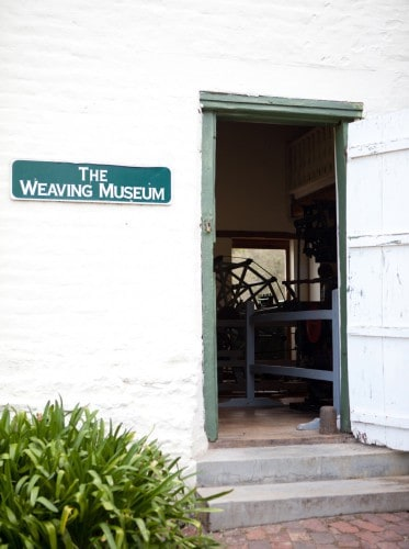 The Mungo working weaving museum at Old Nick Village