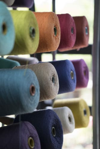Mungo takes yarn & creates beautiful fabrics.