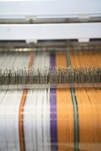 Weaving at the Mungo Mill
